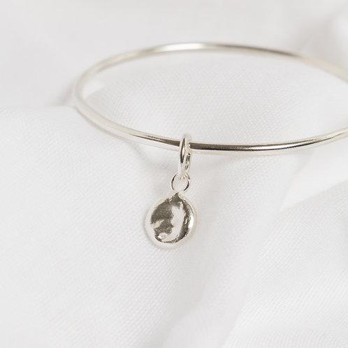 Full Moon Charm Bracelet