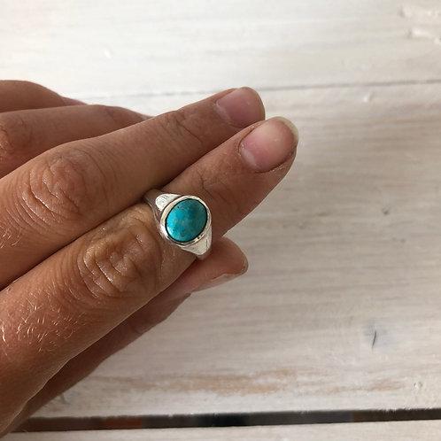 Turquoise Oval Ring II