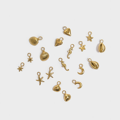 Gold Additional Hoop Charms