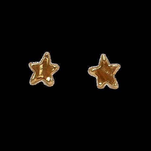 Little Star Studs Gold