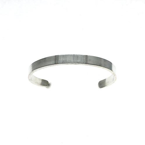 Thick Silver Cuff