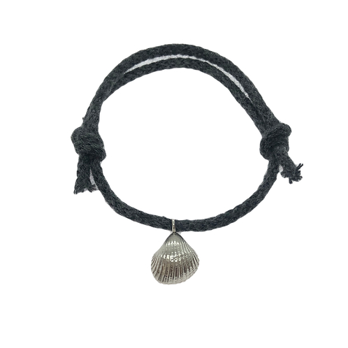 Cockle Shell Rope Bracelet