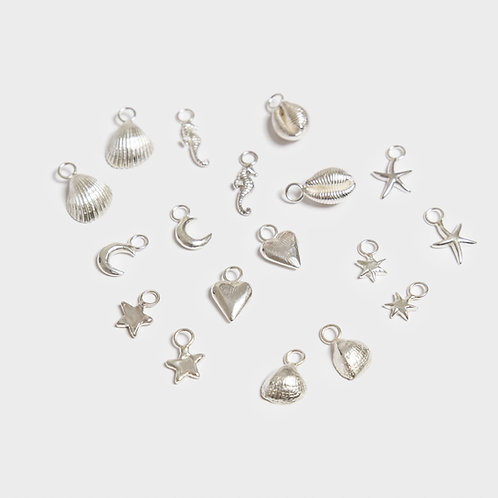 Additional Silver Hoop Charms