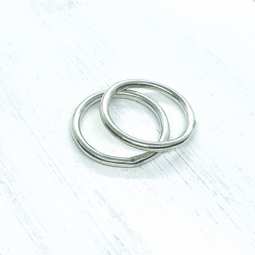Fat Stacking rings