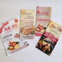 Cheap Chinese Takeaway A4 A3 A4 Extended Menu Printing