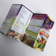 Takeaway Menu Printing Northern Ireland.