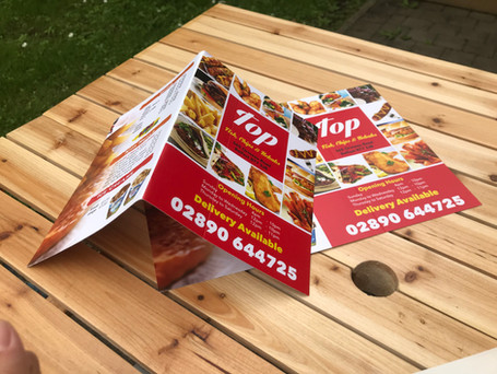 A4 Kebab Menu Printing Prints