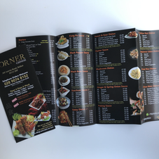 A4 + Menu Printing Chinese Takeaway Menu