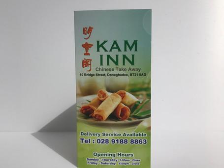 Cheap Takeaway Menu Leaflet printing