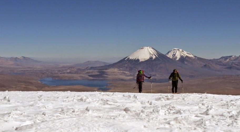 Guallatiri climbed in north Chile