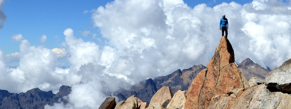Cordillera QUimsa Curz Bolivia