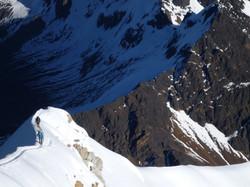 Summit ridge  - normal route
