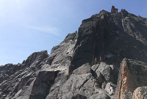Cresta de la Vertebra -Quimsa Cruz