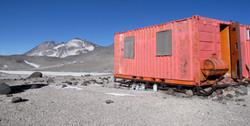 high camp at 5900m