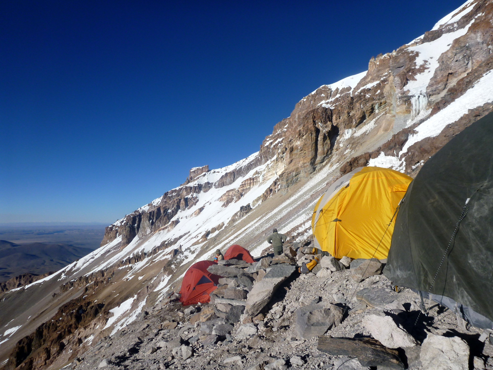 High camp Sajama