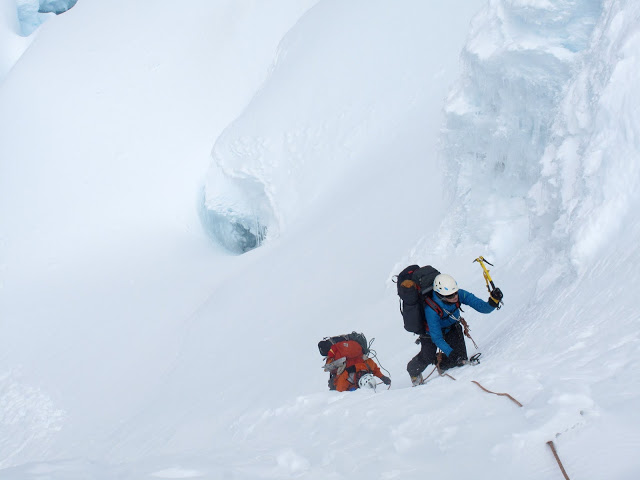 crux pitch to high camp