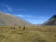 Trekking in the Cordillera real, Bolivia