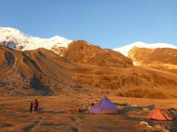 comfortable Base camp