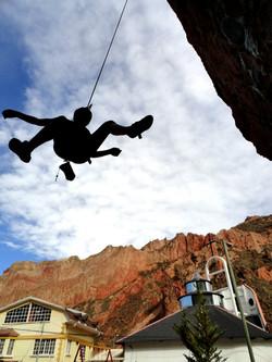 """""""el Peñon"""" climbers play ground"""
