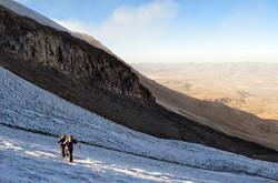guallatiri ascent