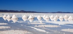 On the shores of the Salar