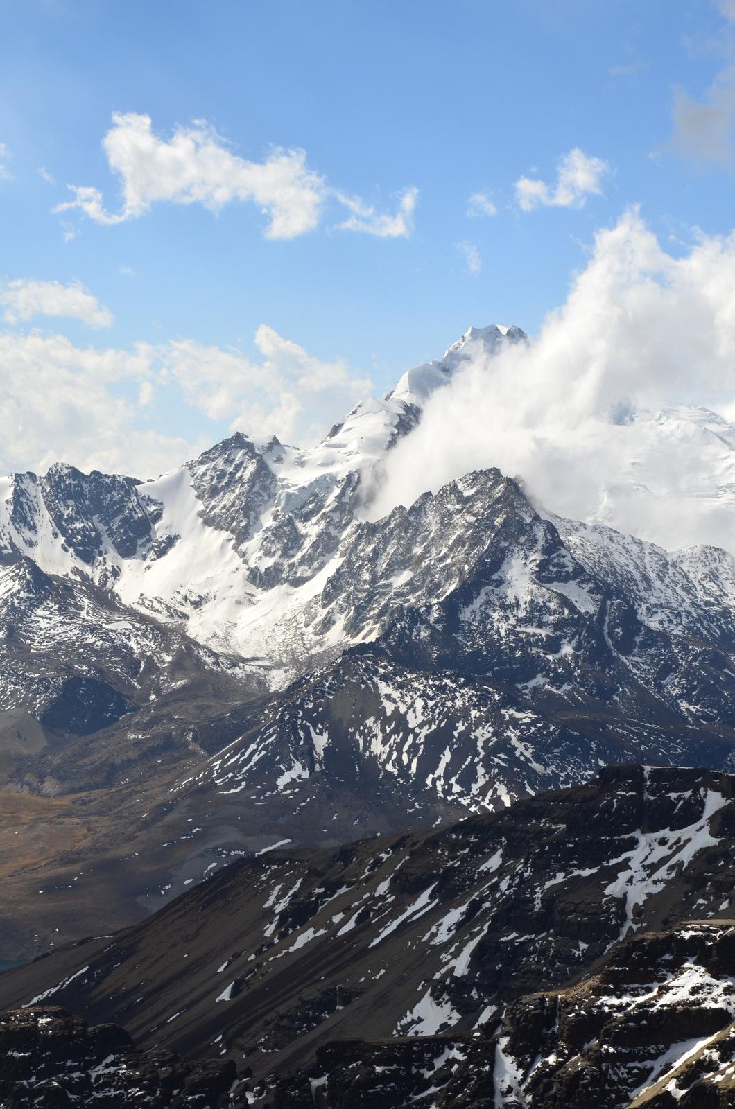Huayna Potosi 6094m hoch
