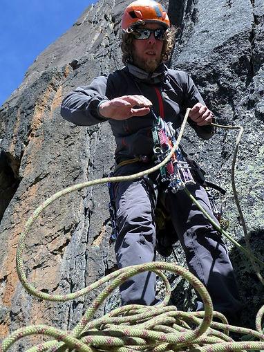 trad climbing granit Bolivia