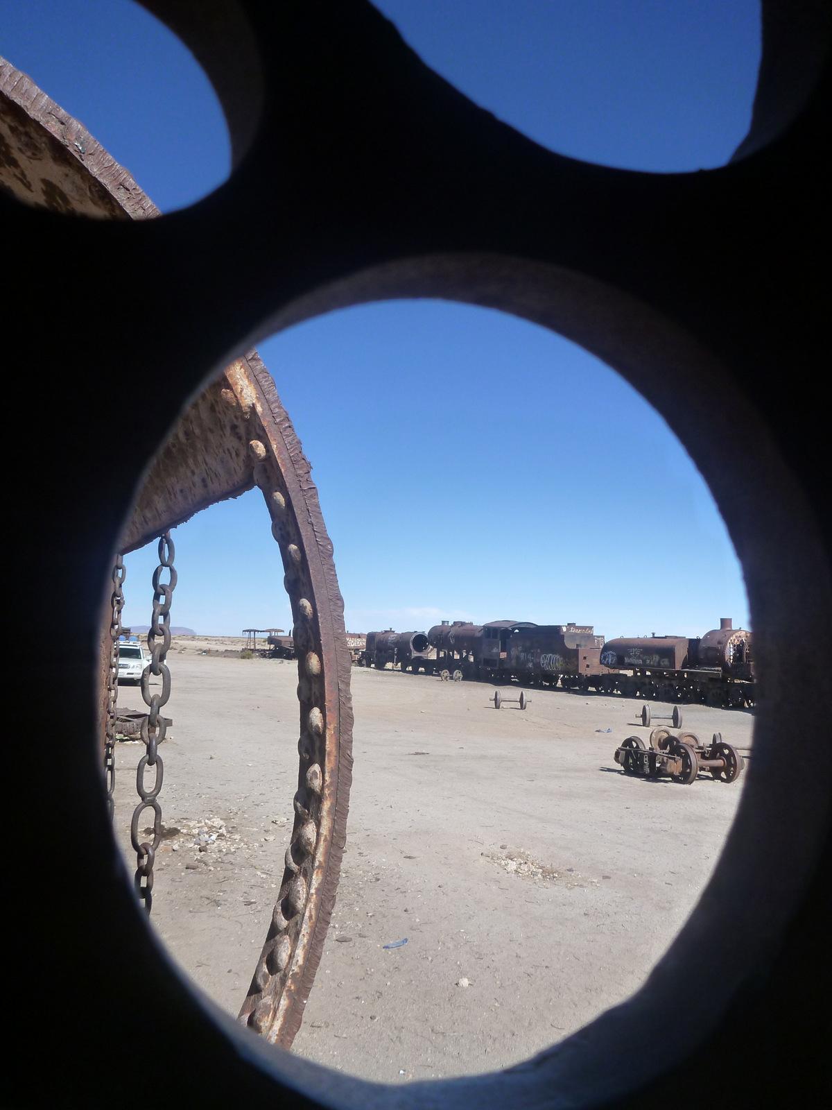 cimetière de trains - Uyuni