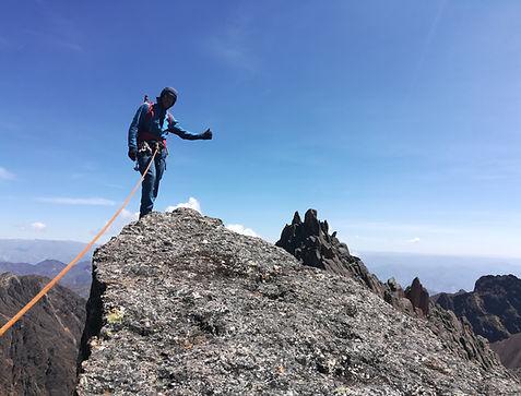 Rock Climbng Bolivia