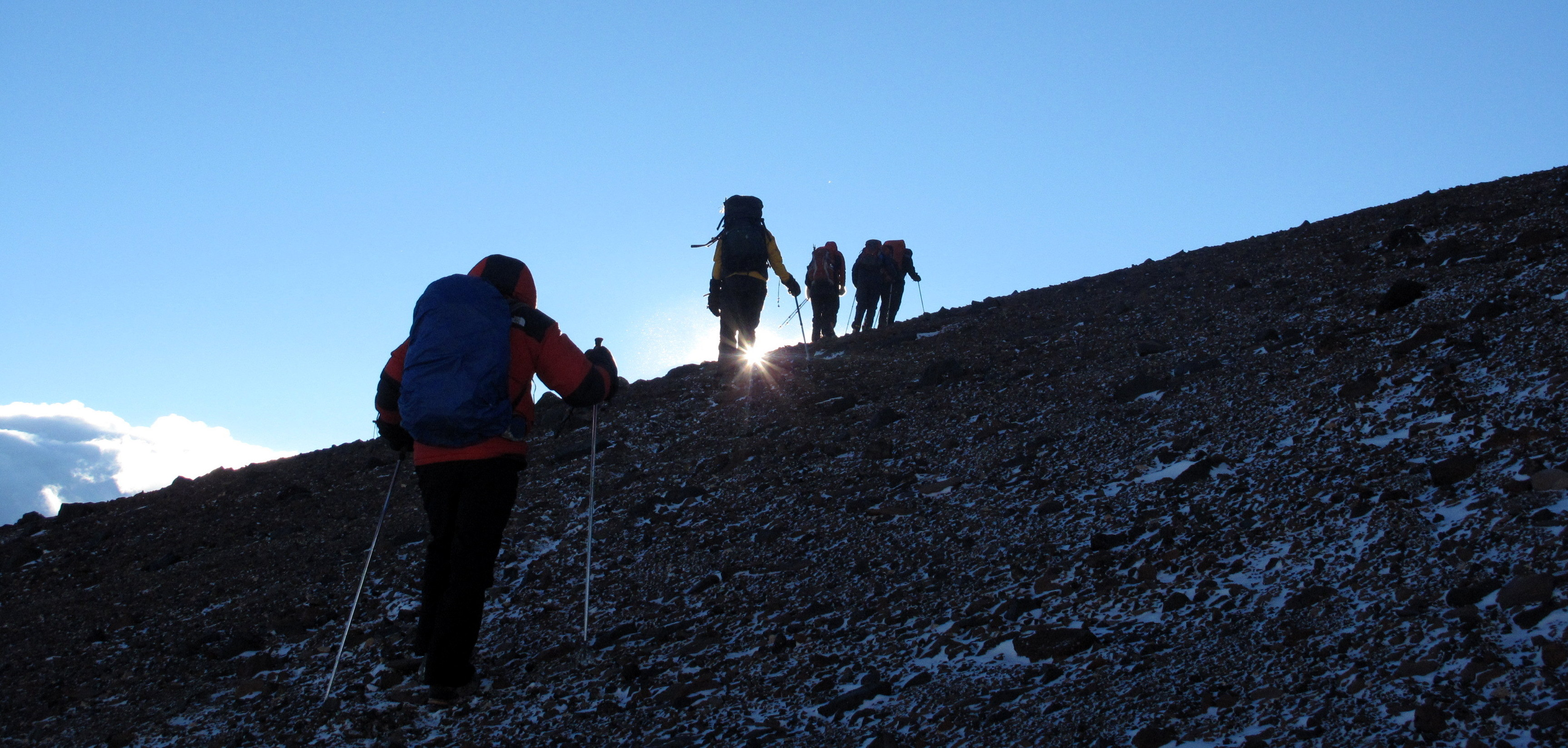 climbing cerro san fransisco