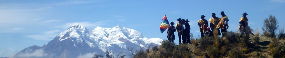 Illimani is the second highest mountain to climb in Bolivia