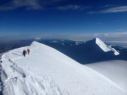 Reaching south summit