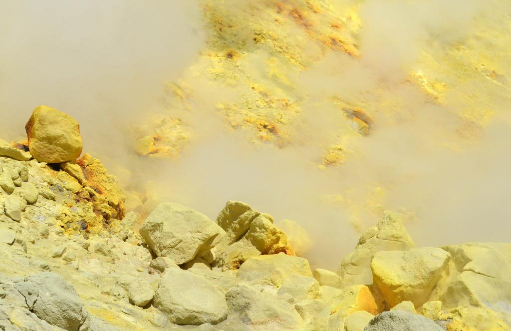 Sulfur Fumaroles