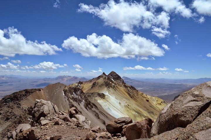 Tarapaca summital ridge