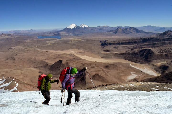 Guallatiri 6070m in Chile