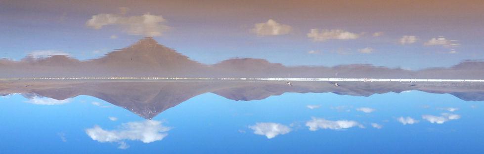 Volcan Pabellon salar de uyuni bolivia Andes