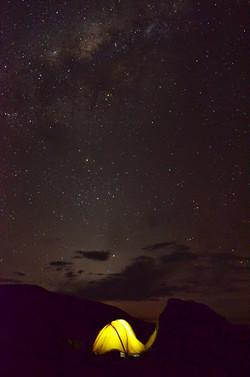 Sternen Himmel in Bolivien