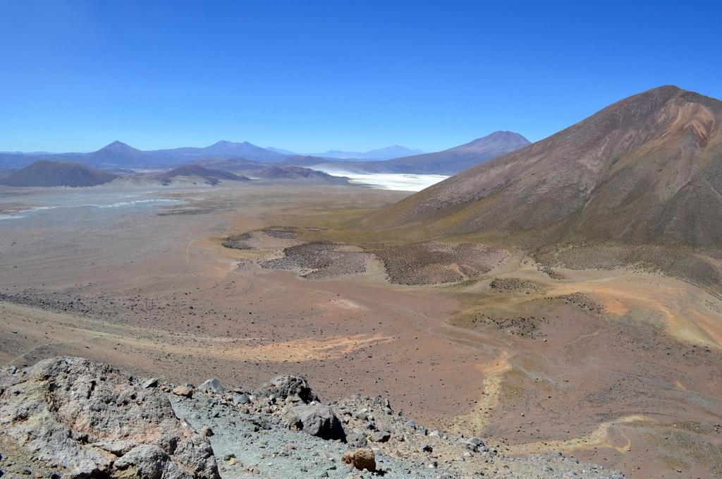 view from Iruputuncu volcano