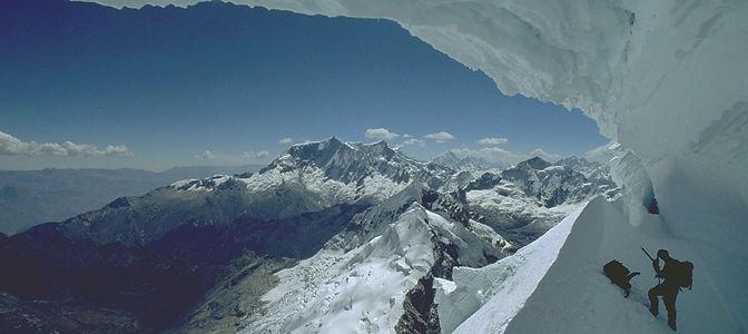 climb Yerupaja in the cordillera Huayhuash