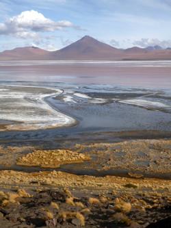 laguna Colorada and dim light