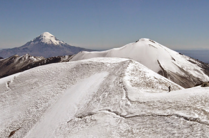 Guallatiri volcano ascent