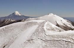 guallatiri summital ridge
