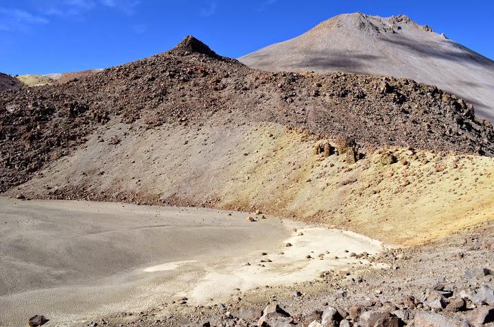 extinct crater of Tarapaca