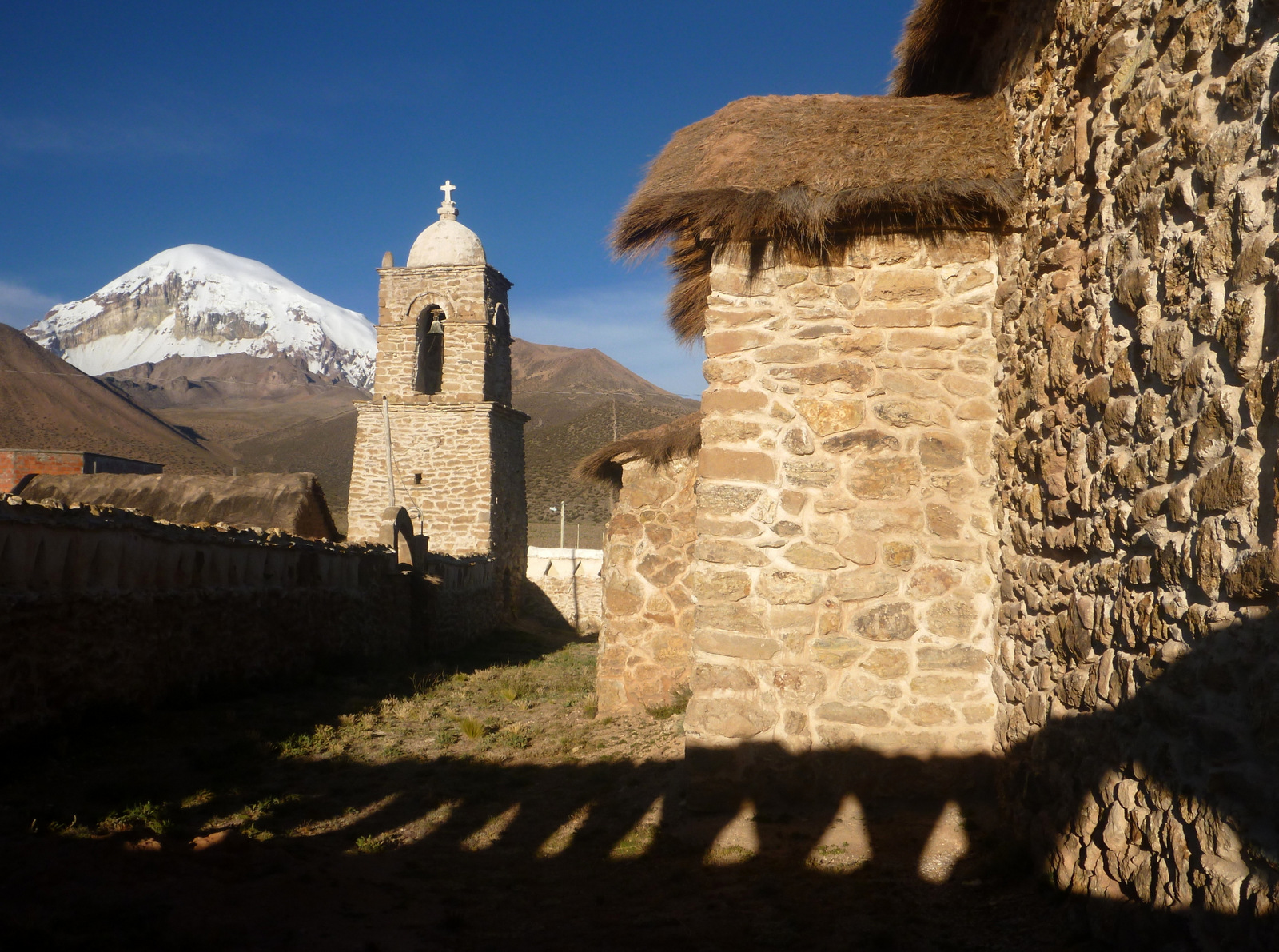 colonial church Sajama