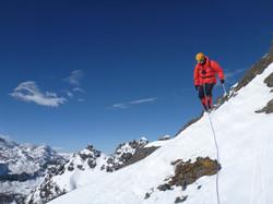 sur la descente du pico Tarija