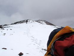Barrancas blancas 6070m