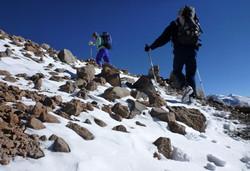 Licancabur can be snow covered