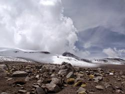 Active crater of Isluga