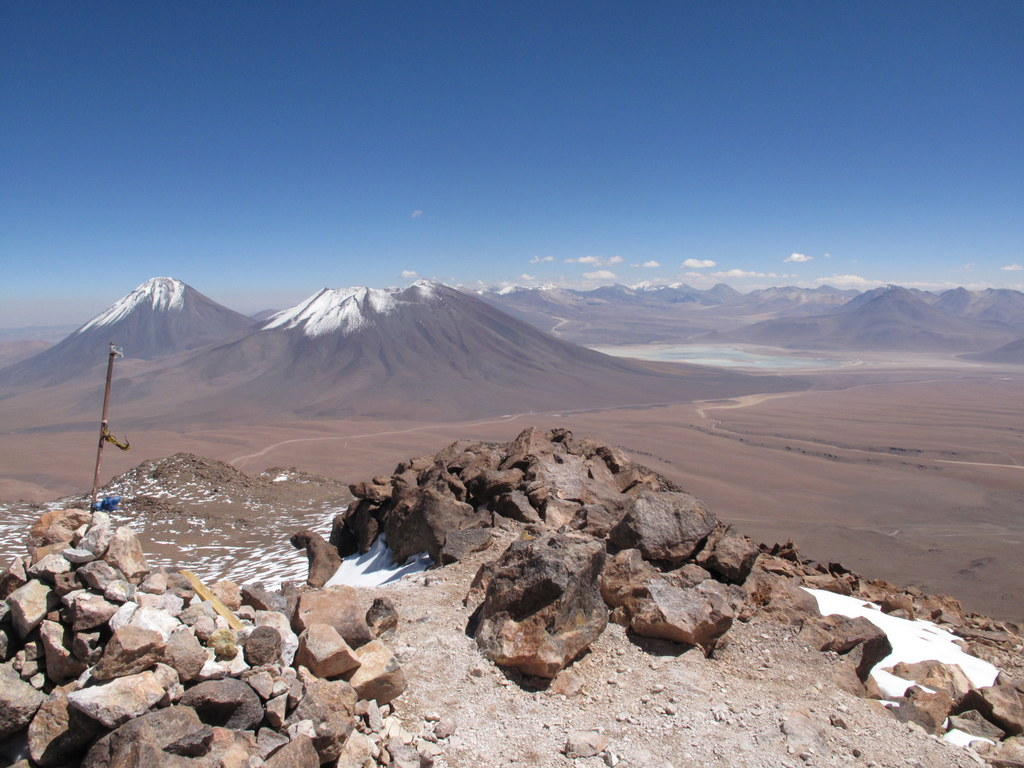 summit of cerro toco