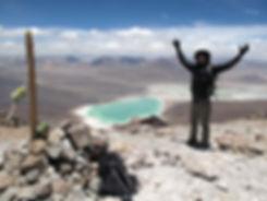 Ascension de volcans Licancabur en Bolivie